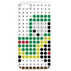 Tractor Perler Bead Apple iPhone 5 Hardshell Case with Stand