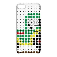 Tractor Perler Bead Apple iPod Touch 5 Hardshell Case with Stand