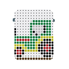 Tractor Perler Bead Apple iPad 2/3/4 Protective Soft Cases