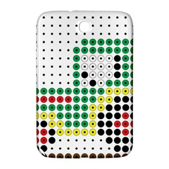 Tractor Perler Bead Samsung Galaxy Note 8.0 N5100 Hardshell Case
