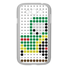 Tractor Perler Bead Samsung Galaxy Grand DUOS I9082 Case (White)