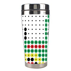 Tractor Perler Bead Stainless Steel Travel Tumblers
