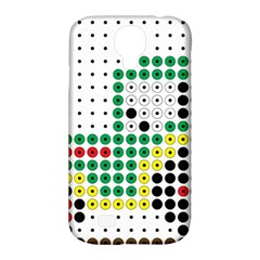 Tractor Perler Bead Samsung Galaxy S4 Classic Hardshell Case (PC+Silicone)