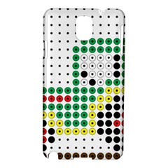 Tractor Perler Bead Samsung Galaxy Note 3 N9005 Hardshell Case