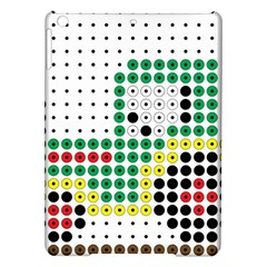 Tractor Perler Bead iPad Air Hardshell Cases