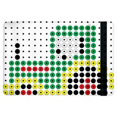 Tractor Perler Bead iPad Air Flip