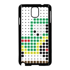 Tractor Perler Bead Samsung Galaxy Note 3 Neo Hardshell Case (Black)