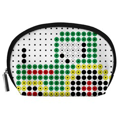 Tractor Perler Bead Accessory Pouches (Large)