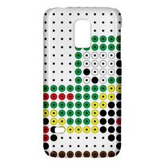 Tractor Perler Bead Galaxy S5 Mini