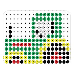 Tractor Perler Bead Double Sided Flano Blanket (Large)