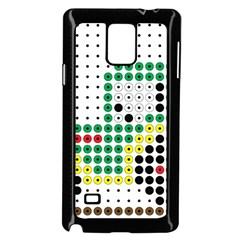 Tractor Perler Bead Samsung Galaxy Note 4 Case (Black)