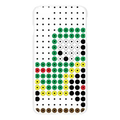 Tractor Perler Bead Apple Seamless iPhone 6 Plus/6S Plus Case (Transparent)