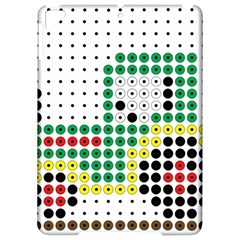 Tractor Perler Bead Apple iPad Pro 9.7   Hardshell Case