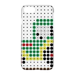 Tractor Perler Bead Apple iPhone 7 Hardshell Case