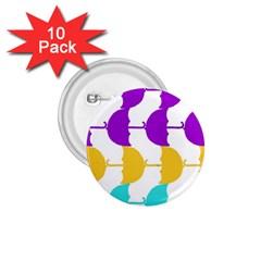 Umbrella 1.75  Buttons (10 pack)