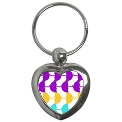Umbrella Key Chains (Heart)