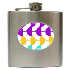 Umbrella Hip Flask (6 oz)