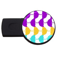 Umbrella USB Flash Drive Round (1 GB)