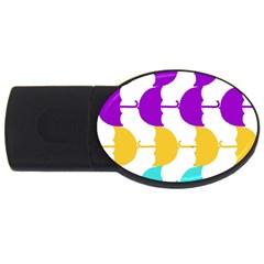 Umbrella USB Flash Drive Oval (1 GB)