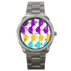 Umbrella Sport Metal Watch