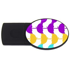 Umbrella USB Flash Drive Oval (4 GB)