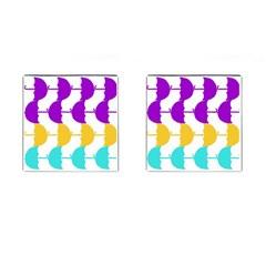 Umbrella Cufflinks (Square)