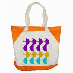 Umbrella Accent Tote Bag