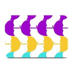 Umbrella Plate Mats
