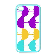 Umbrella Apple iPhone 4 Case (Color)
