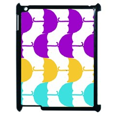 Umbrella Apple iPad 2 Case (Black)