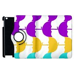 Umbrella Apple iPad 3/4 Flip 360 Case