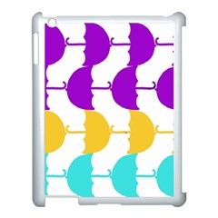 Umbrella Apple iPad 3/4 Case (White)
