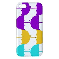Umbrella iPhone 5S/ SE Premium Hardshell Case