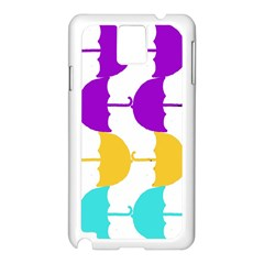 Umbrella Samsung Galaxy Note 3 N9005 Case (White)
