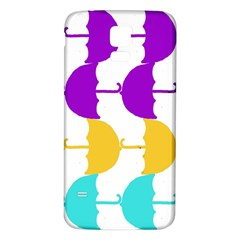 Umbrella Samsung Galaxy S5 Back Case (White)