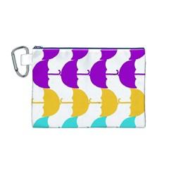 Umbrella Canvas Cosmetic Bag (M)