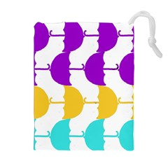 Umbrella Drawstring Pouches (Extra Large)