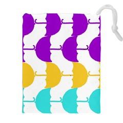 Umbrella Drawstring Pouches (XXL)
