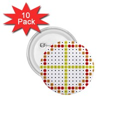 Vertical Horizontal 1.75  Buttons (10 pack)