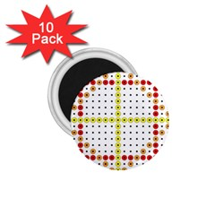 Vertical Horizontal 1.75  Magnets (10 pack)