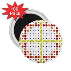 Vertical Horizontal 2.25  Magnets (100 pack)