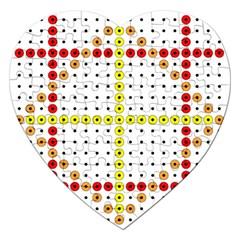 Vertical Horizontal Jigsaw Puzzle (Heart)