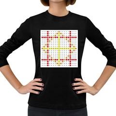 Vertical Horizontal Women s Long Sleeve Dark T-Shirts