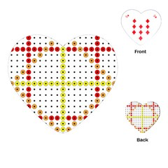 Vertical Horizontal Playing Cards (Heart)