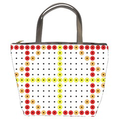 Vertical Horizontal Bucket Bags