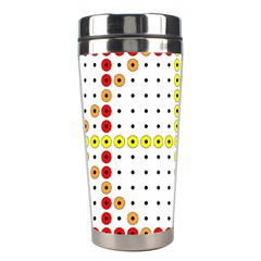 Vertical Horizontal Stainless Steel Travel Tumblers