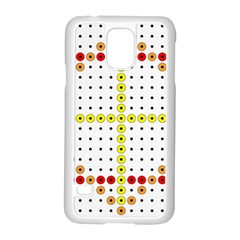 Vertical Horizontal Samsung Galaxy S5 Case (White)