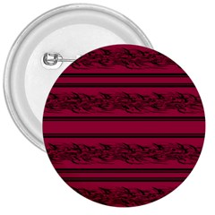 Red barbwire pattern 3  Buttons