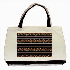 Colorful barbwire Basic Tote Bag (Two Sides)
