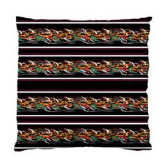 Colorful Barbwire Standard Cushion Case (one Side)